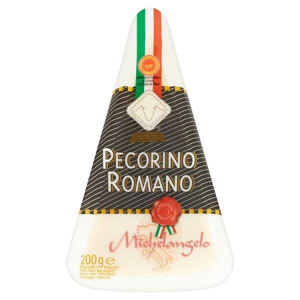 Michelangelo Pecorino Romano Ser włoski twardy z mleka owczego 200 g