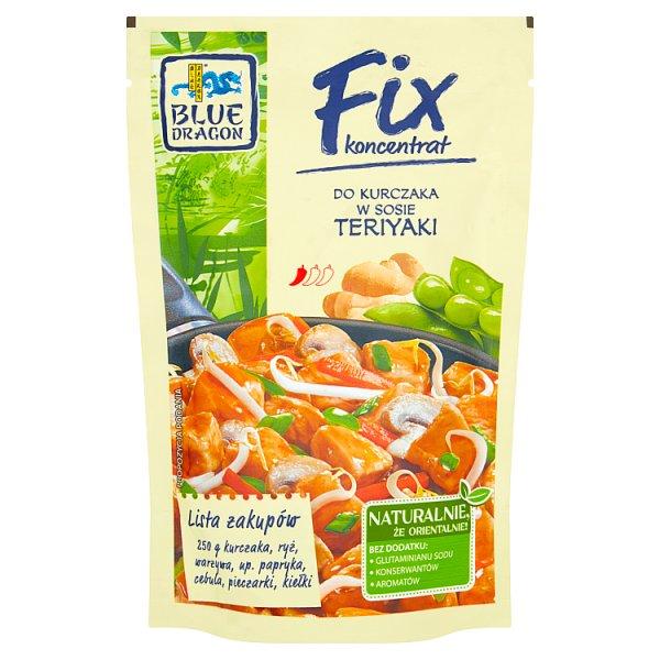 Blue Dragon Fix koncentrat do kurczaka w sosie teriyaki 150 g