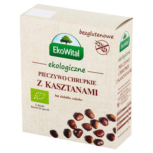 EkoWital Ekologiczne pieczywo chrupkie z kasztanami 100 g