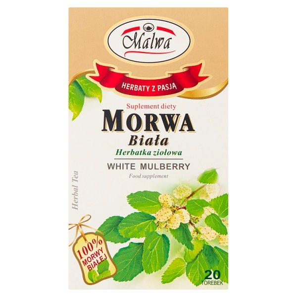 Malwa Suplement diety herbatka ziołowa morwa biała 40 g (20 x 2 g)