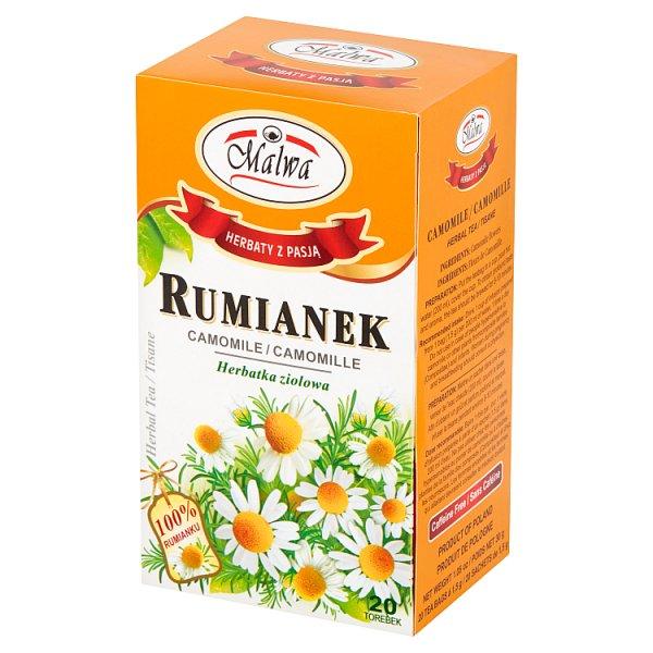 Malwa Herbatka ziołowa rumianek 30 g (20 x 1,5 g)