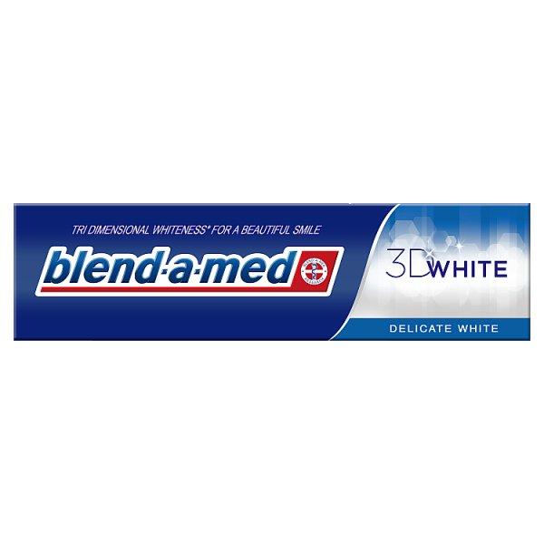 Blend-a-med 3DWhite Delicate White Pasta do zębów 100 ml