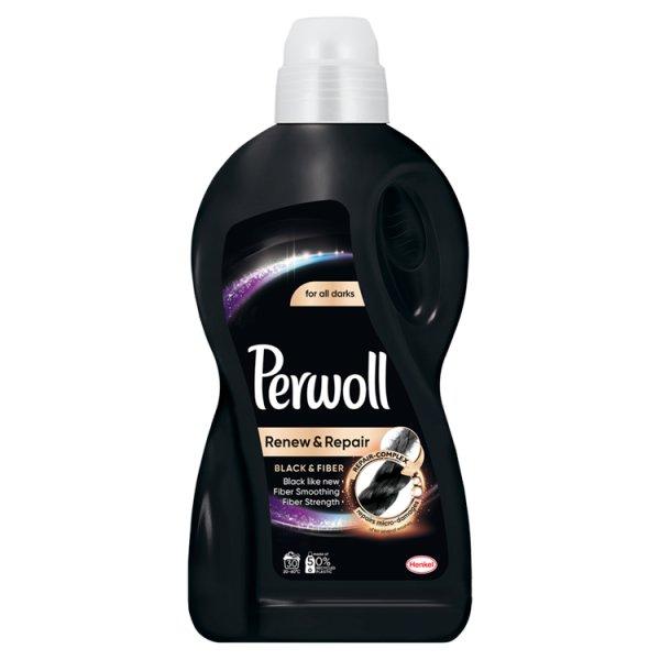 Perwoll Renew & Repair Black & Fiber Płynny środek do prania 1,8 l (30 prań)