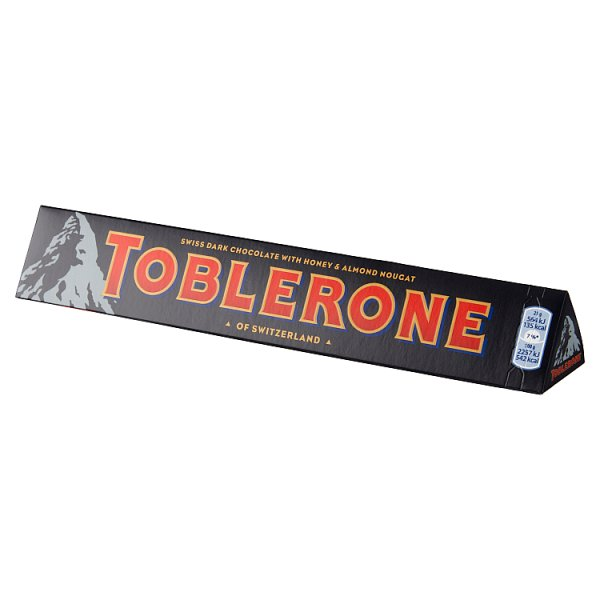 Toblerone Szwajcarska czekolada z nugatem miodowo-migdałowym 100 g