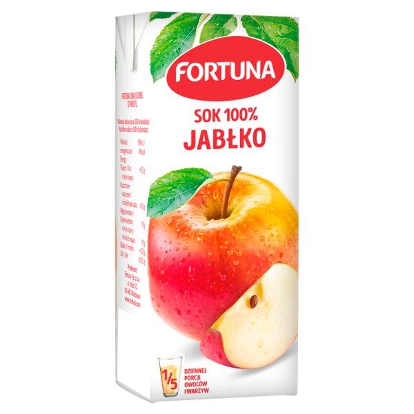 Fortuna Sok 100% jabłko 200 ml
