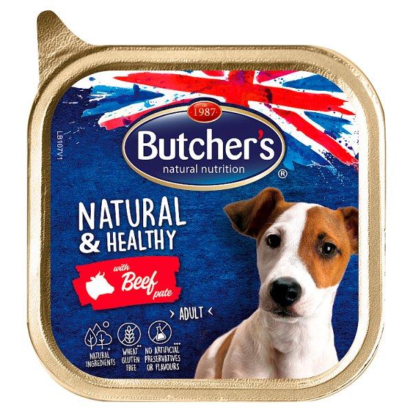 Butcher's Natural & Healthy Karma dla dorosłych psów pasztet z wołowiną 150 g