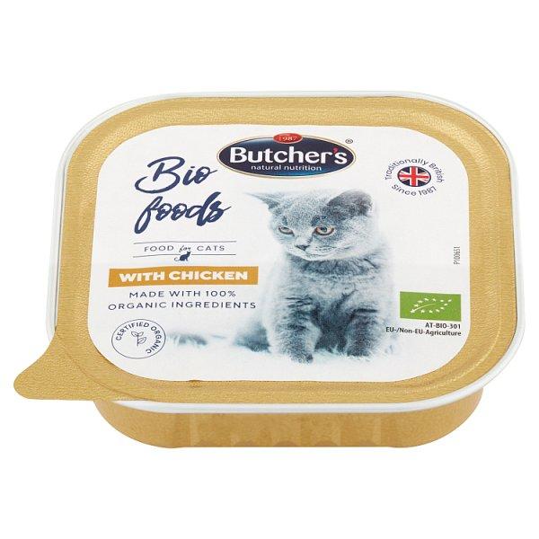 Butcher's Bio Foods Karma dla dorosłych kotów pasztet z kurczakiem 85 g