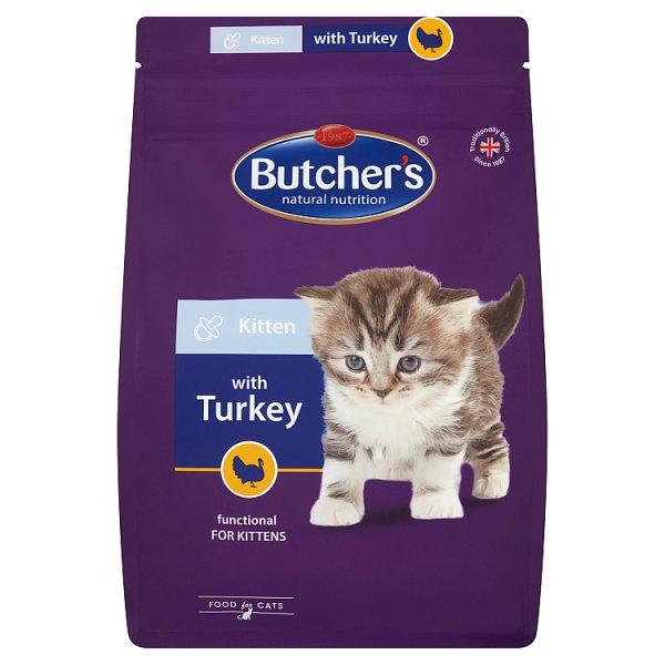 Butcher's Karma dla kociąt z indykiem 800 g