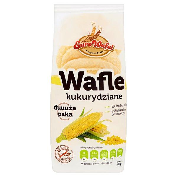 Eurowafel Wafle kukurydziane 100 g