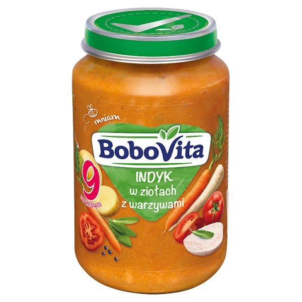 BoboVita Indyk w ziołach z warzywami po 9 miesiącu 190 g