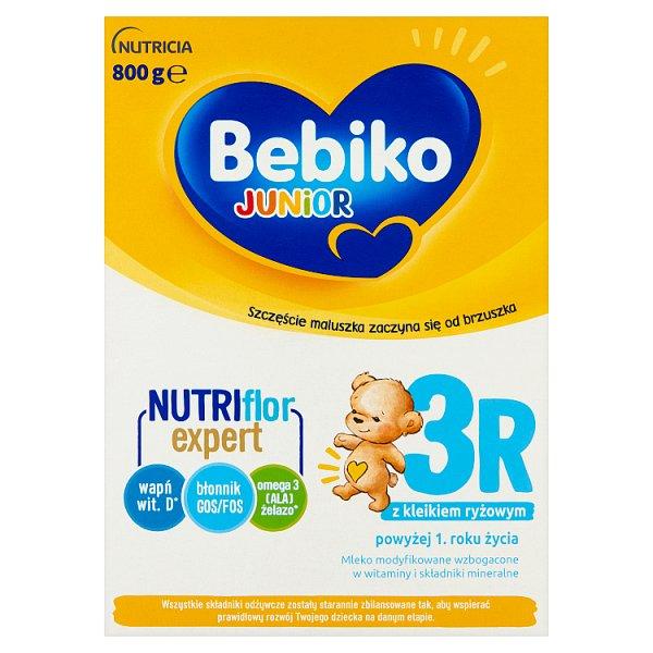 Bebiko Junior 3R Mleko modyfikowane dla dzieci powyżej 1. roku życia 800 g (2 x 400 g)