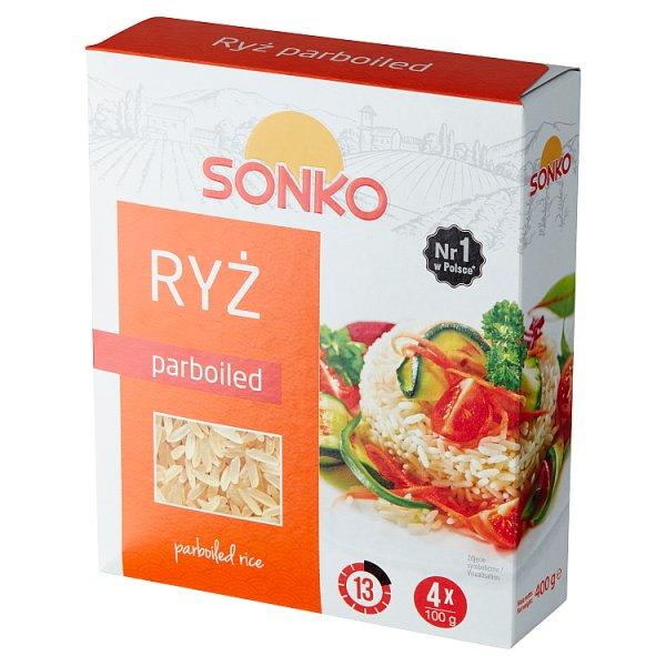 Sonko Ryż parboiled 400 g (4 x 100 g)