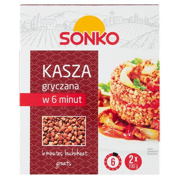 Sonko Kasza gryczana w 6 minut 200 g (2 x 100 g)