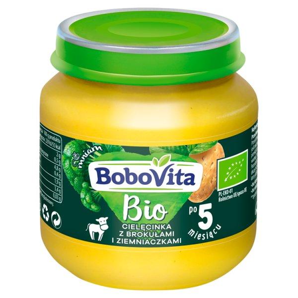 BoboVita Bio Cielęcinka z brokułami i ziemniaczkami po 5 miesiącu 125 g