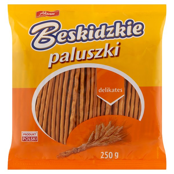Aksam Beskidzkie Paluszki delikates 250 g