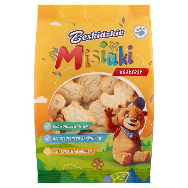 Aksam Beskidzkie Misiaki Krakersy 90 g
