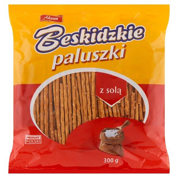 Aksam Beskidzkie Paluszki z solą 300 g