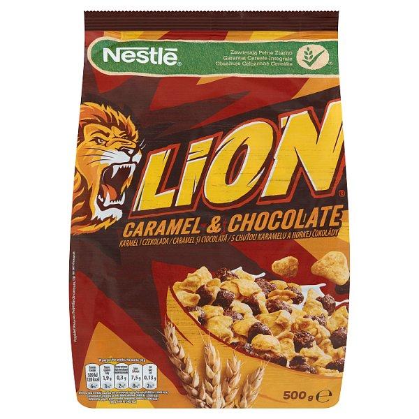 Nestlé Lion Płatki śniadaniowe 500 g