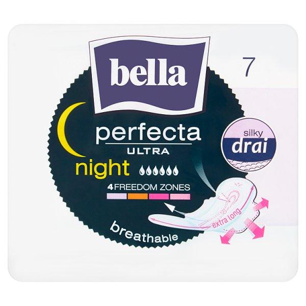 Bella Perfecta Ultra Night Podpaski higieniczne 7 sztuk