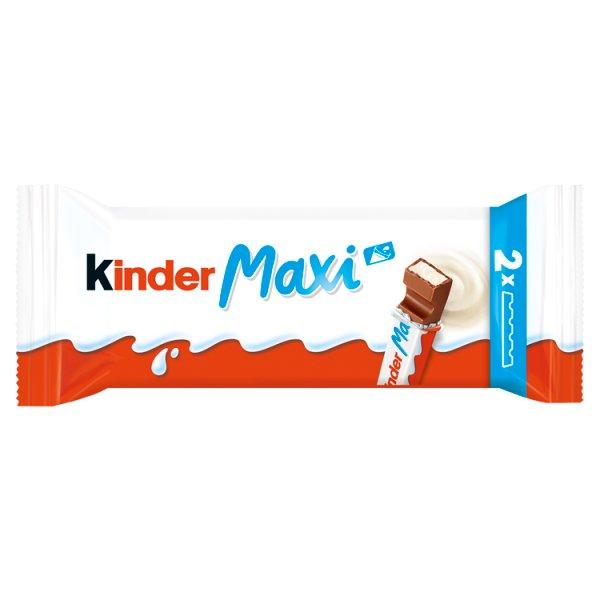Kinder Chocolate Maxi Batonik z mlecznej czekolady z nadzieniem mlecznym 42 g (2 x 21 g)