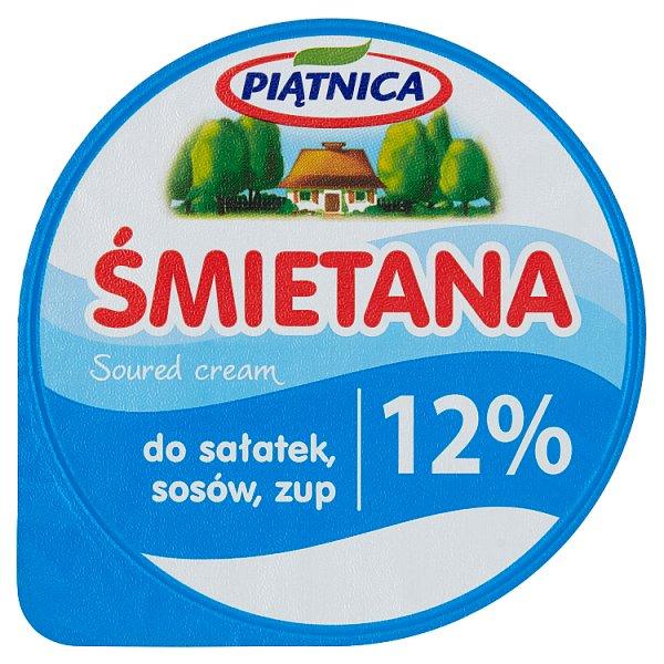Piątnica Śmietana 12% 200 g