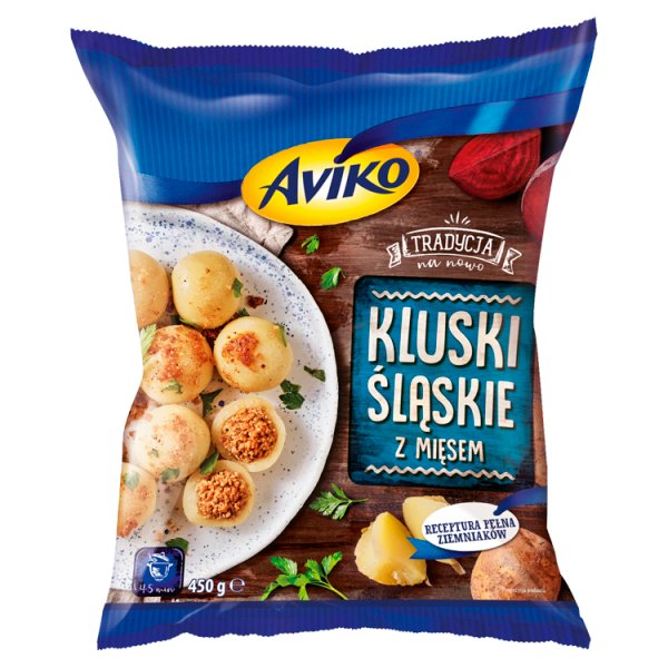 Aviko Kluski śląskie z mięsem 450 g