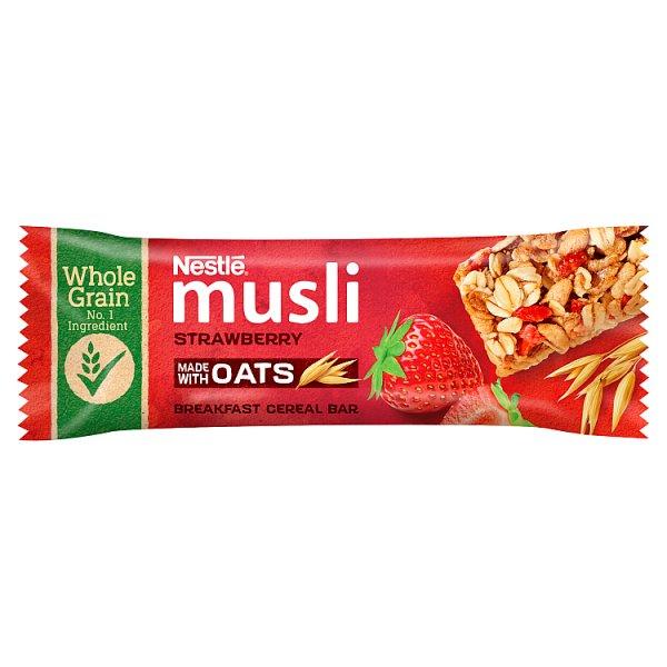 Nestlé Musli Batonik zbożowy z truskawkami 35 g