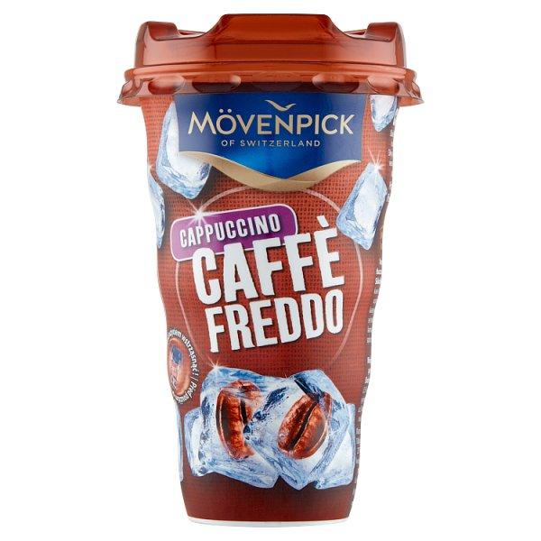Mövenpick Caffè Freddo Cappuccino Napój na bazie kawy z mlekiem 189 ml