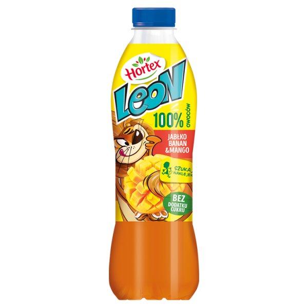 Hortex Leon Koktajl owocowy jabłko banan mango 1 l