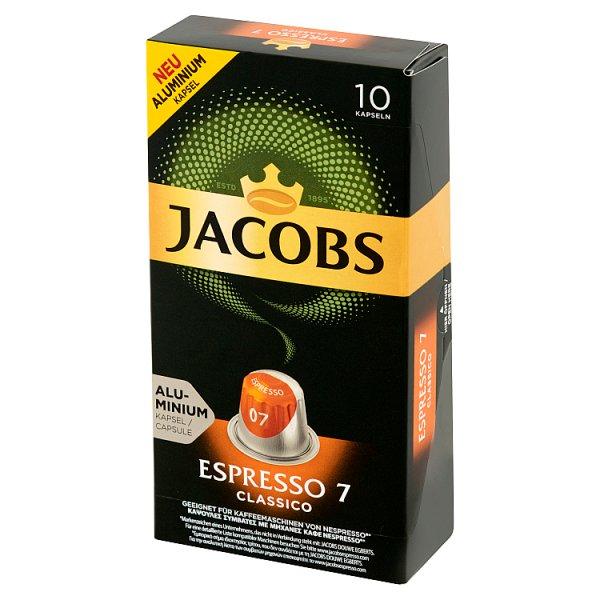 Jacobs Espresso Classico Kawa mielona w kapsułkach 52 g (10 sztuk)