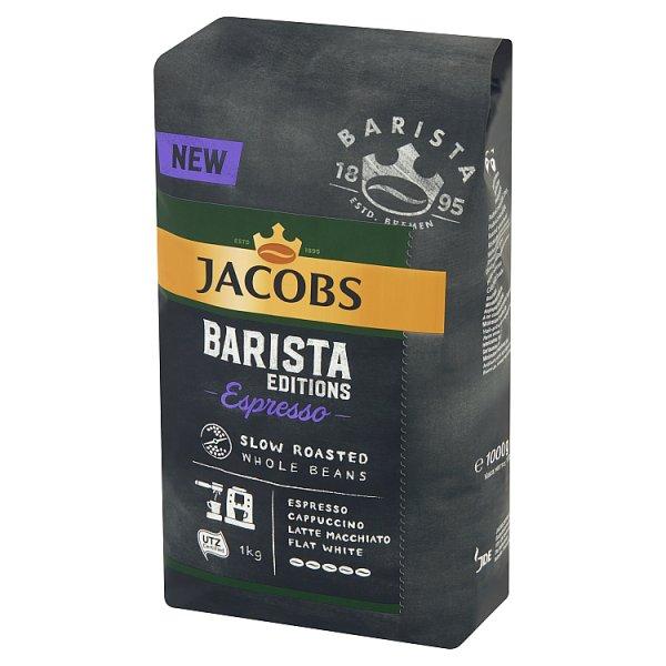 Jacobs Barista Editions Espresso Wolno prażona kawa ziarnista 1 kg