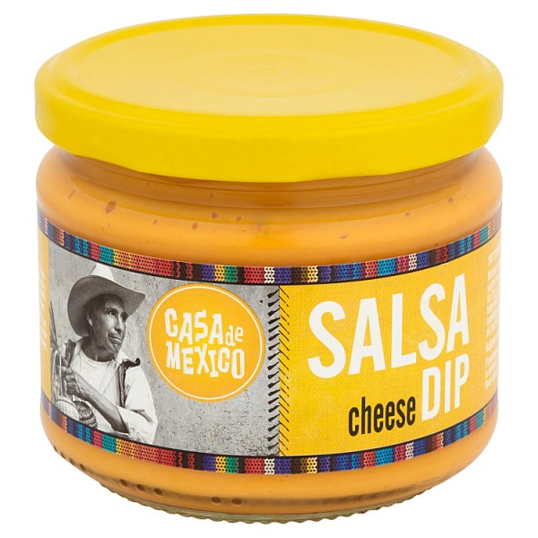 Casa de Mexico Salsa Cheese Dip 300 g