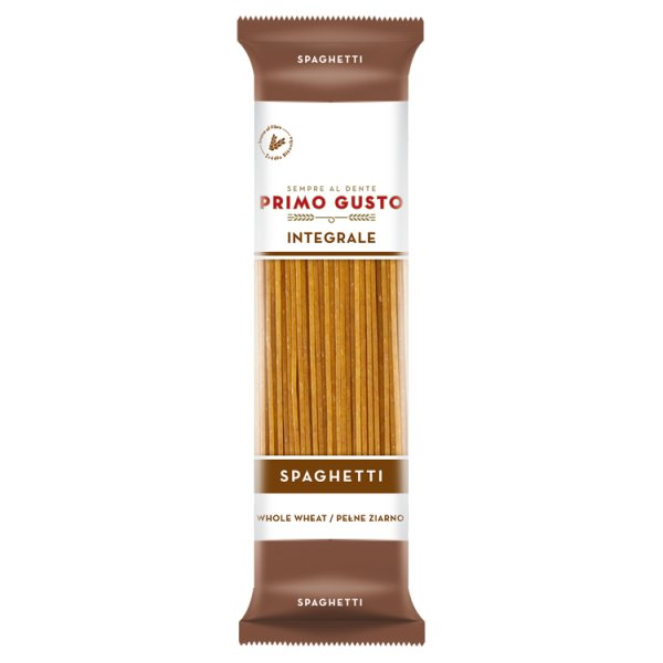 Primo Gusto Integrale Makaron pełnoziarnisty spaghetti 500 g
