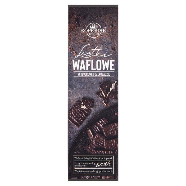 Kopernik Listki waflowe w deserowej czekoladzie 96 g