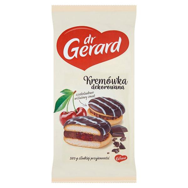 dr Gerard Kremówka dekorowana czekoladowo wiśniowy smak 380 g