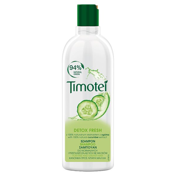 Timotei Detox Fresh Szampon do włosów 400 ml