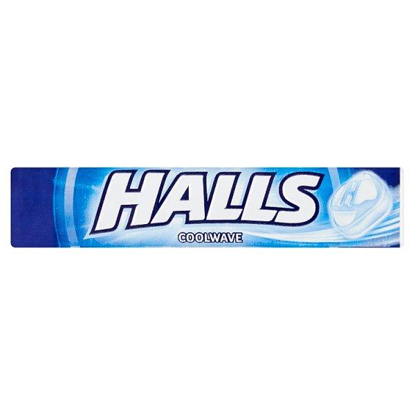 Halls Coolwave Cukierki 33,5 g