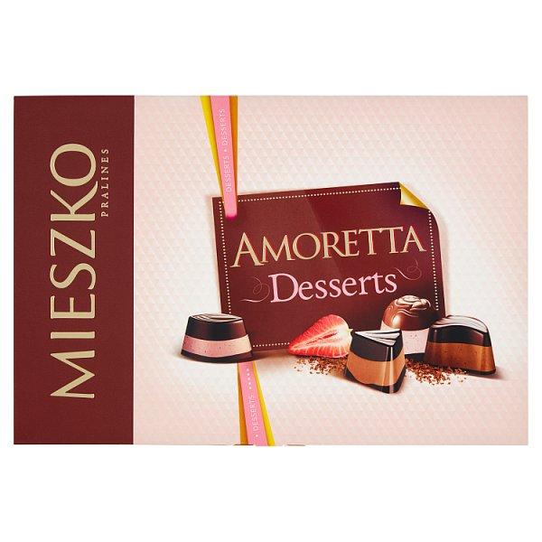 Mieszko Amoretta Desserts Praliny w czekoladzie 276 g