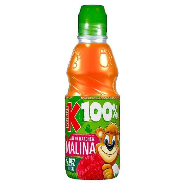 Kubuś 100% Sok malina marchew jabłko 300 ml