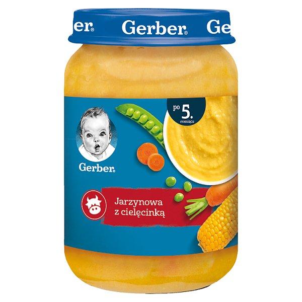 Gerber Jarzynowa z cielęcinką dla niemowląt po 5. miesiącu 190 g