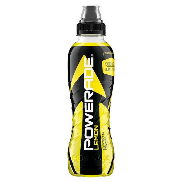 Powerade Lemon Napój izotoniczny 500 ml
