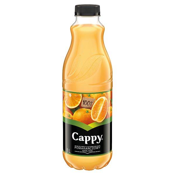 Cappy Sok pomarańczowy 100% 1 l