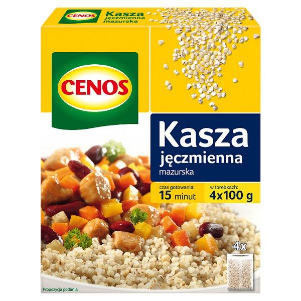 Cenos Kasza jęczmienna mazurska 400 g (4 x 100 g)