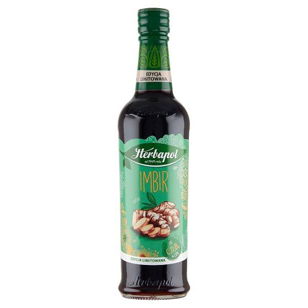Herbapol Suplement diety syrop o smaku imbirowym 420 ml