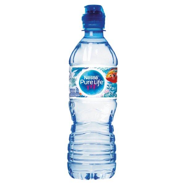 Nestlé Pure Life Tropiciele woda źródlana niegazowana 0,5 l