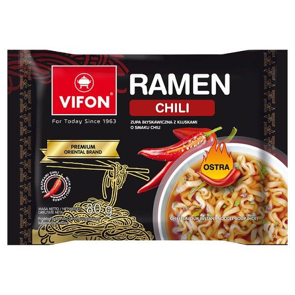 Vifon Ramen Zupa z kluskami o smaku chili 80 g