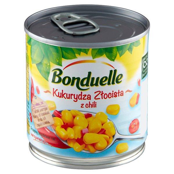 Bonduelle Kukurydza Złocista z chili 165 g