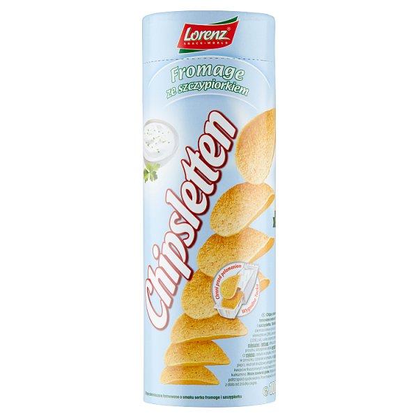 Chipsletten Chipsy ziemniaczane fromage ze szczypiorkiem 100 g