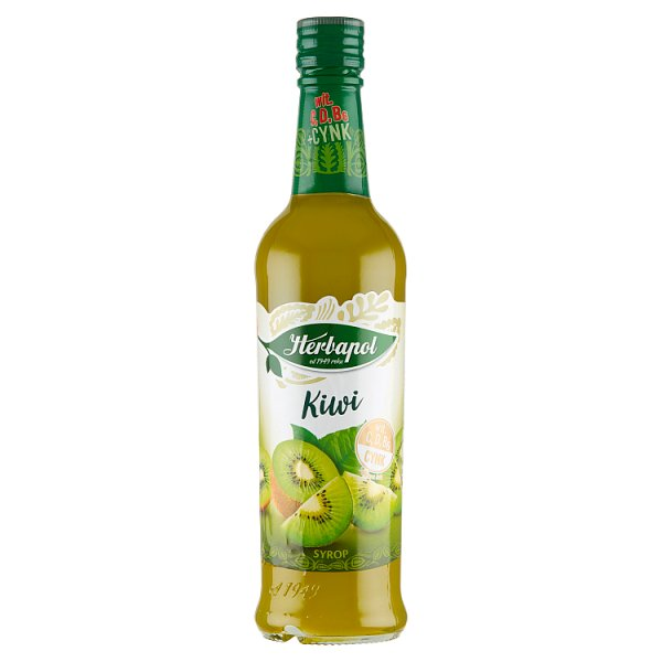 Herbapol Suplement diety syrop o smaku kiwi 420 ml
