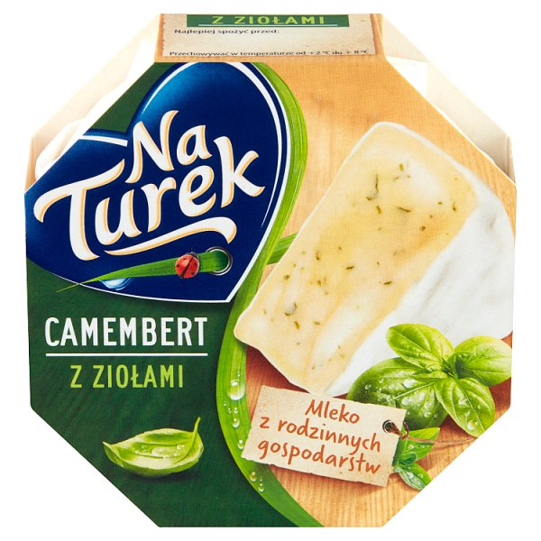 NaTurek Ser pleśniowy camembert z ziołami 120 g